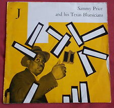 "SAMMY PRICE AND HIS TEXAS BLUESICIANS  25 CM 10"" ORIG FR CFD"