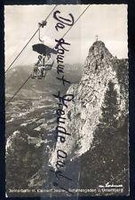 096P Ansichtskarte  AK  Berchtesgaden Jennerbahn & kleiner Jenner &  Untersberg