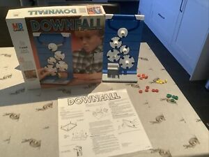 Vintage Downfall Board Game 1992 MB Games - Complete