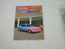 Nova Times Magazine ~ October 1989 ~ '75 ~ '79 Power Windows ~ 3rd Annual All Ch