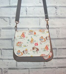 Pets Party Cath Kidston Fabric Handmade Bag, Across body / shoulder bag