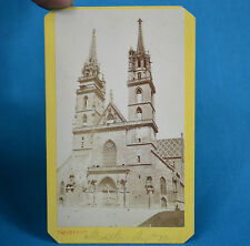 1870s CDV Carte De Visite Bale Basel Munster Suisse Varady & Co Switzerland