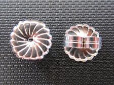 PLATINUM 950 10MM  MONSTER LARGE SAFETY EARRING BACKS