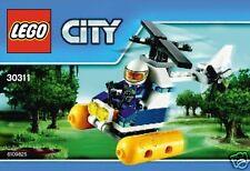 LEGO City 30311 Sumpf Polizei Helikopter NEU 2015 Polybeutel!