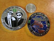 USAF AFSOC PJ s Pararescue Blues Brother's Mission From DoD Challenge Coin