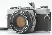 【EXC+5】 OLYMPUS OM-1 SLR Camera w/ F.Zuiko MC Auto-S 50mm F1.8 Lens from JAPAN