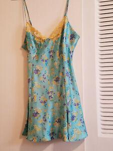 Victoria's Secret Teddy Dress Lingerie color Teal Large