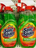 4 Spic And Span Antibacterial Antiviral Spray Cleaner, 22 oz Citrus Fresh