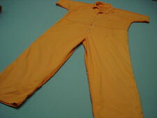 Inmate Jail Prisoner Convict  Costume Orange Prison Jumpsuit 3XL