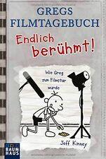 Gregs Filmtagebuch - Endlich berühmt!: Wie Greg zum Film... | Buch | Zustand gut