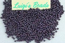 11/0 Round Toho Japan Seed Beads # 90-Metallic Amethsyt G Metal 10 grams