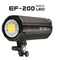 Jinbei NEW Upgraded EF-200V 5500K LED Continuous Sun light Bowens S-fit Bayonet