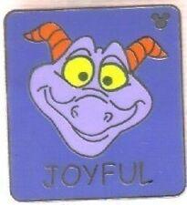 Figment Expressions Joyful Hidden Mickey Cast Lanyard 2007 Wdw Disney Pin