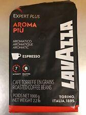 Lavazza Aroma Piu Espresso Roasted Coffee Beans 2.2 lb Best By 4/30/2019