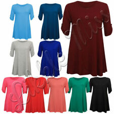 Unbranded Scoop Neck Tops & Shirts for Women with Buttons