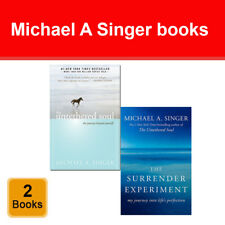 Michael A Singer 2 books collection set Surrender Experiment, Untethered Soul