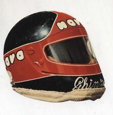 Adesivo Formula 1 OSELLA CASCO PIERCARLO GHINZANI sponsor sticker F1 anni 80