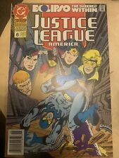 Justice League America Annual #6 DC Comics - 1992 - Nr Mint - Newsstand Edition