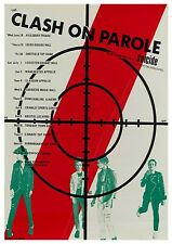 "Reproduction The Clash ""On Parole"" Poster, Joe Strummer, Home Wall Art"