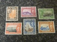 HONG KONG POSTAGE STAMPS SG163-168 VERY LIGHTLY MOUNTED MINT