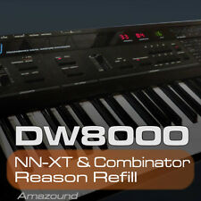KORG DW8000 REASON REFILL 425 COMBINATOR & NNXT PATCHES 3426 SAMPLES 24bt MAC PC