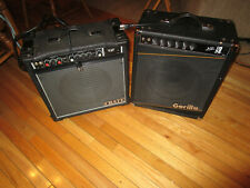 Crate G 60 200w or Gorilla Tc 110 150w Choice guitar/accordion amplifiers Vgc