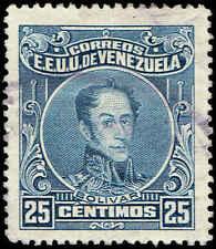 Scott # 276A - 1924 - ' Simon Bolivar ' - Perf. 14