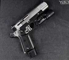1911 Grips with Integrated Rail and Changeable Panels RECOVER TACTICAL. BLACK