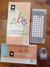 New listing Calligraphy Collection Cricut Cartridge ~ Letters, Numbers, Phrases, Shapes