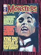 FAMOUS MONSTERS OF FILMLAND- # 124 USA MAGAZINE APRIL1976 - BELA LUGOSI -DALEKS