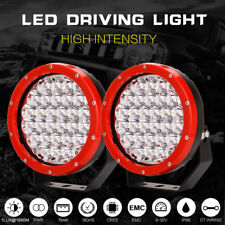 98000w 7inch Cree led Driving lights spotlights Offroad Lamp round HID JEEP ATV