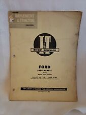 Ford Major Diesel EIADDN Tractor Service I&T Manual