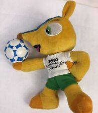 FIFA World Cup 2014 Brazil Mascot Official Licensed Brasil Plush Stuffed Toy 8""