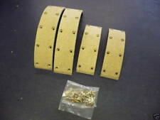 Brems Belag Set WILLYS OVERLAND JEEP MD-M38A1 + M170 , 1952-72 /  Bremse Beläge