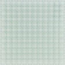 Glasmosaik Fliesen  weiß uni  Wand   Dusche WC Küche | 1 Matte | ES-33799