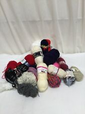Job Lot 1200g (1.2KG) Mixed Wool / Yarn Assorted Colours Sizes Styles VGC