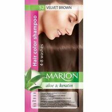 Marion Hair Color Lasting 4-8 Washes Shampoo Sachet - 52 Velvet Brown