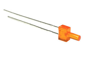 LED 2mm diffus orange leuchtend / 4-19V , kein Vorwiderstand nötig 20 Stück