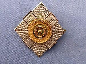 The Royal Scots Officers Cap/ Bonnet Badge.