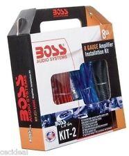 8 GAUGE BOSS AMP WIRING INSTALL KIT AMPLIFIER POWER SUB SUBWOOFER USA BEST PRICE