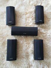 Lot of 5 Aiwa Home Theater Speaker System 1- SX-C2900, 2- SX-AV2900, 2- SX-R2900