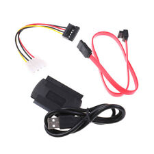 1Set Ide Sata Drive To Usb Adapters Converters Cable For 2.5/3.5Inch Hard Dri I1