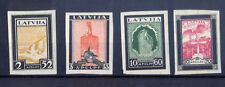 9452 Latvia, MNH air mail stamps set Nr:215B-218B