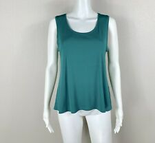 EILEEN FISHER Tank Top - Silk Stretch Jersey - Scoop Neck Size Small - NTSF