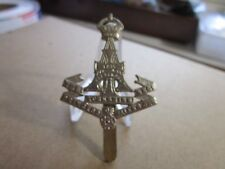 WWI British Army Green Howards Princess Of Wales's Own Yorkshire Rgt Cap Badge