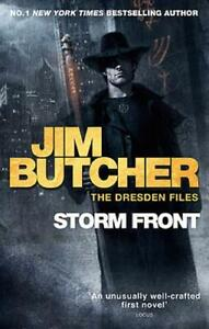 Storm Front: The Dresden Files Book One, Jim Butcher, New, Book