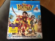 The Pirates! In An Adventure With Scientists ( Blu-ray )New Sealed DAVID TENNANT