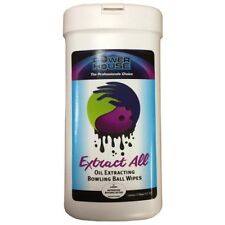 Powerhouse Ebonite Extract all bowlingball Wipes-12 Sheets(new adrenaline wipes)