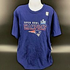 NFL New England Patriots Super Bowl Champions T Shirt Size Youth Medium -NEW -i