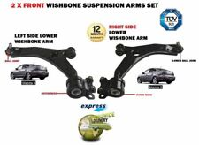 FOR MAZDA 3 2003-2009 2X FRONT LEFT+ RIGHT WISHBONE SUSPENSION CONTROL ARMS SET